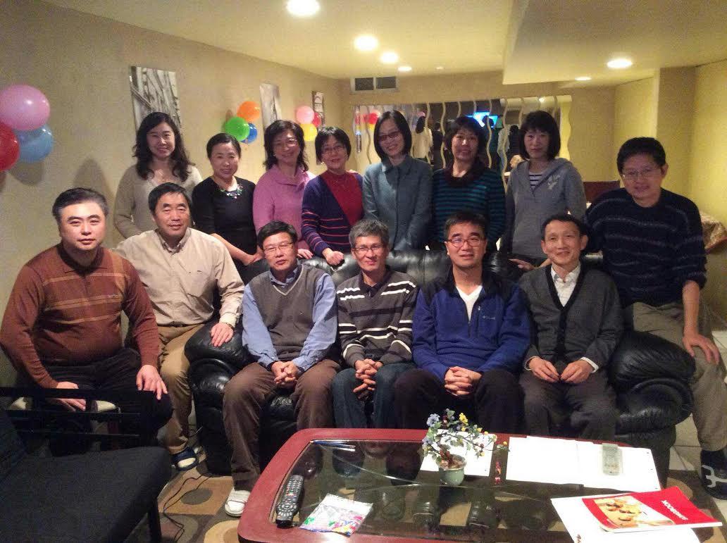 多伦多七系校友2015年新年聚会 (李清秀82711)